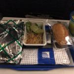 ユナイテッド航空の機内食が異次元にまずい(ワシントン~成田)